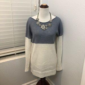GAP lightweight colorblock sweater
